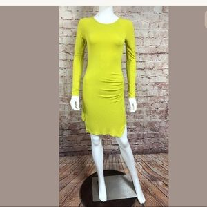 Solstice Dress Long Sleeve Bodycon Boutique Small